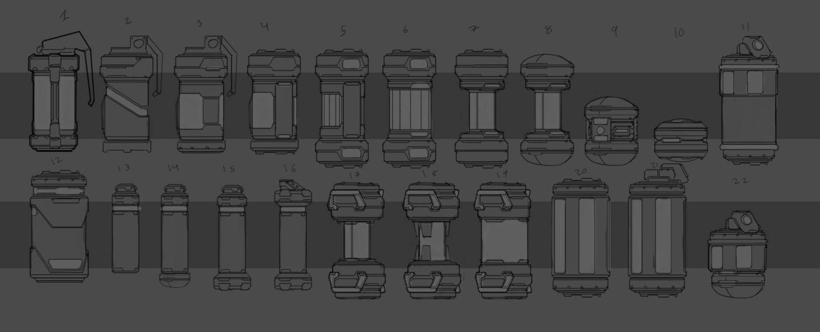 Grenade concepts