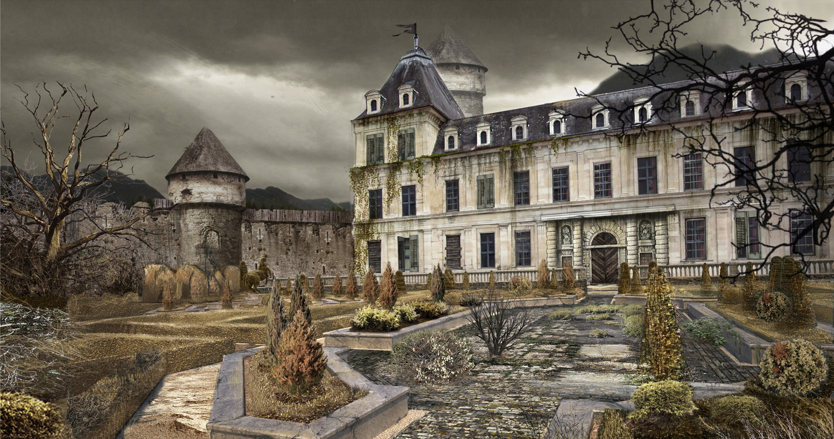 Decayed Rumple's Castle - ABC's Once Upon a Time Season 3