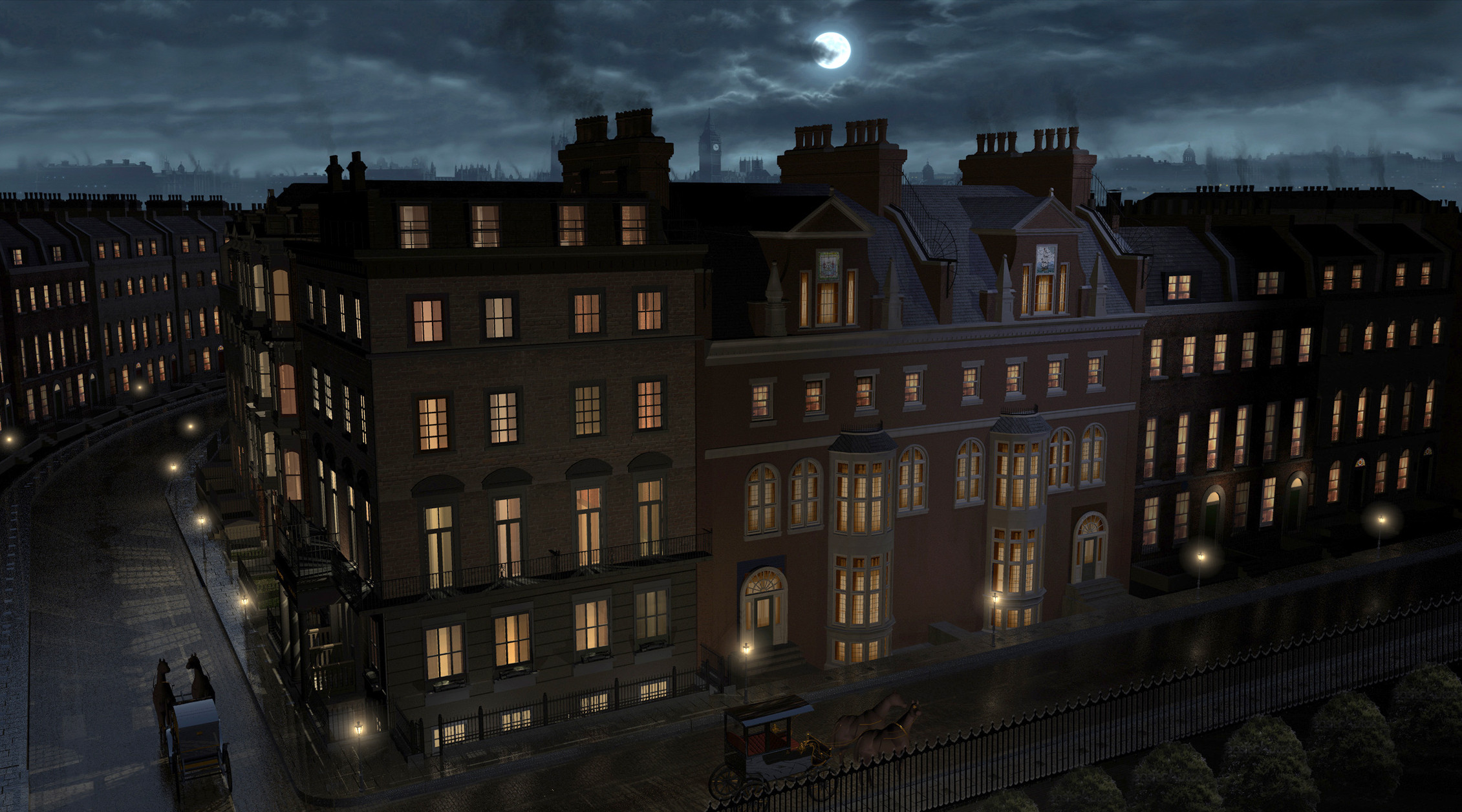 Victorian Street 3D / 2D - ABC's Once Upon a Time Season 2
