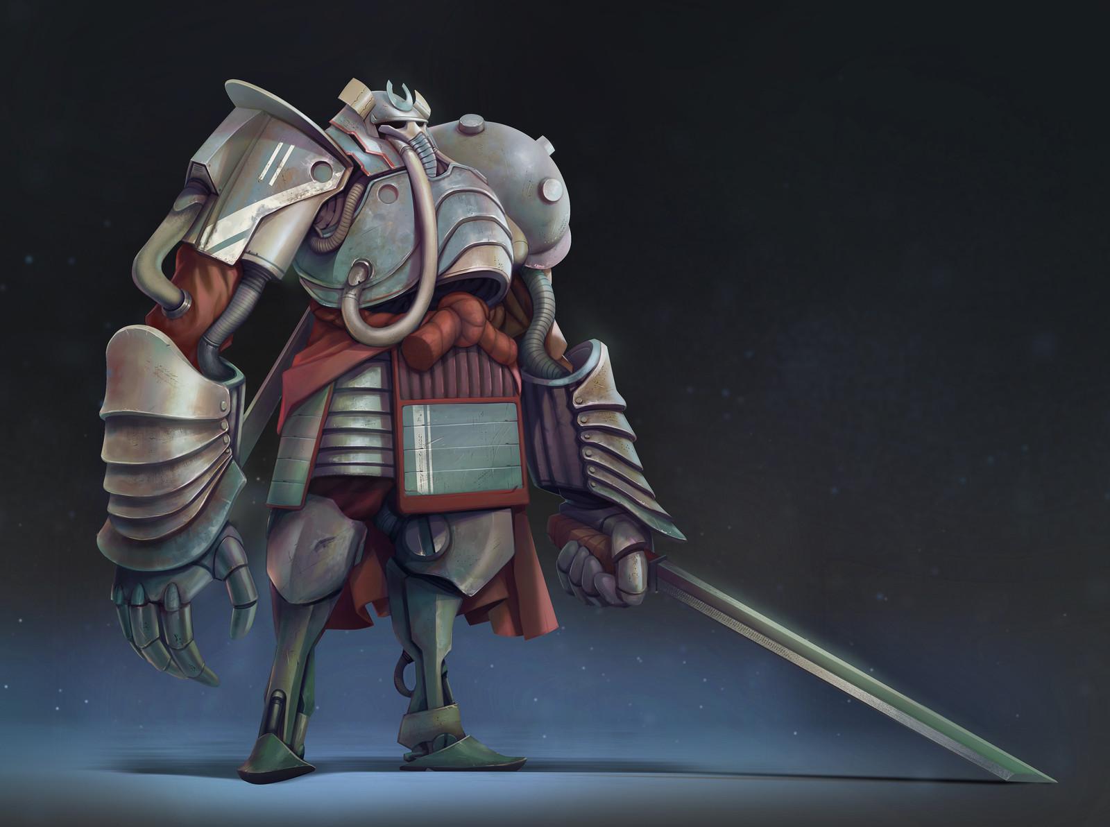 Samuraï war golem