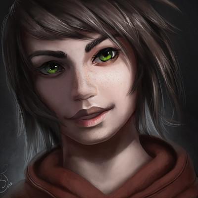 Tess eisinger eryn realisticlight portrait