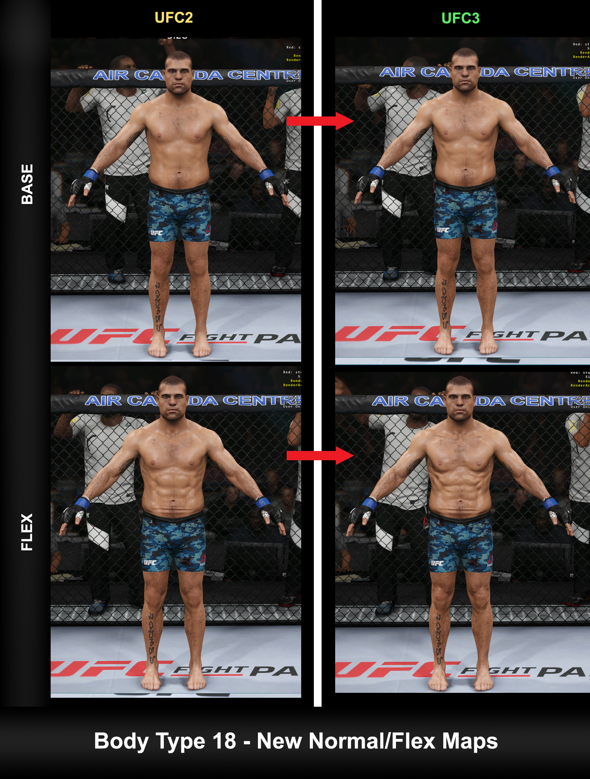 Fabricio rezende ufc3 body type 18 in game