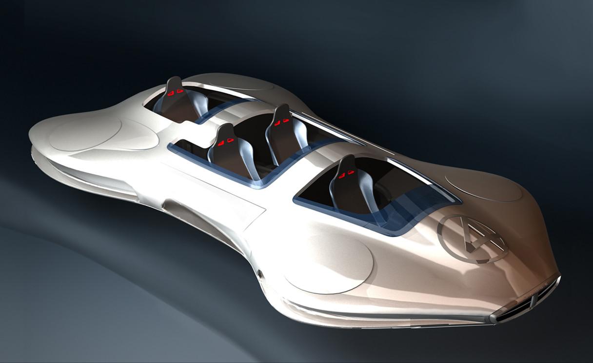 Fantasticar Canopy Concept for  Fantastic 4