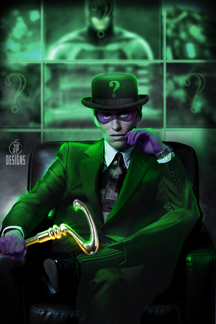 Fans look forward to seeing the Riddler in the movie