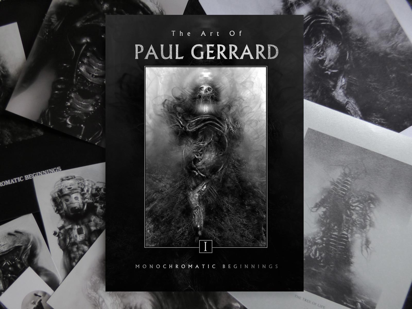 Art of PAUL GERRARD Vol 1 ON SALE NOW