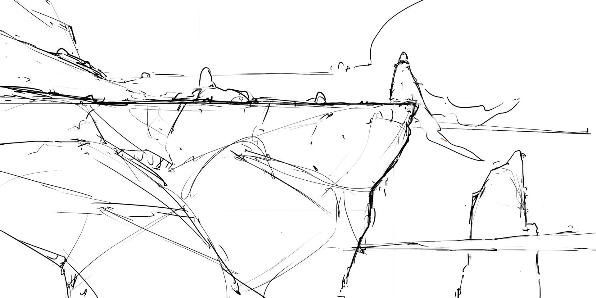 Max schiller 180307 edgeofthecliff graphicstyleexploration sketch