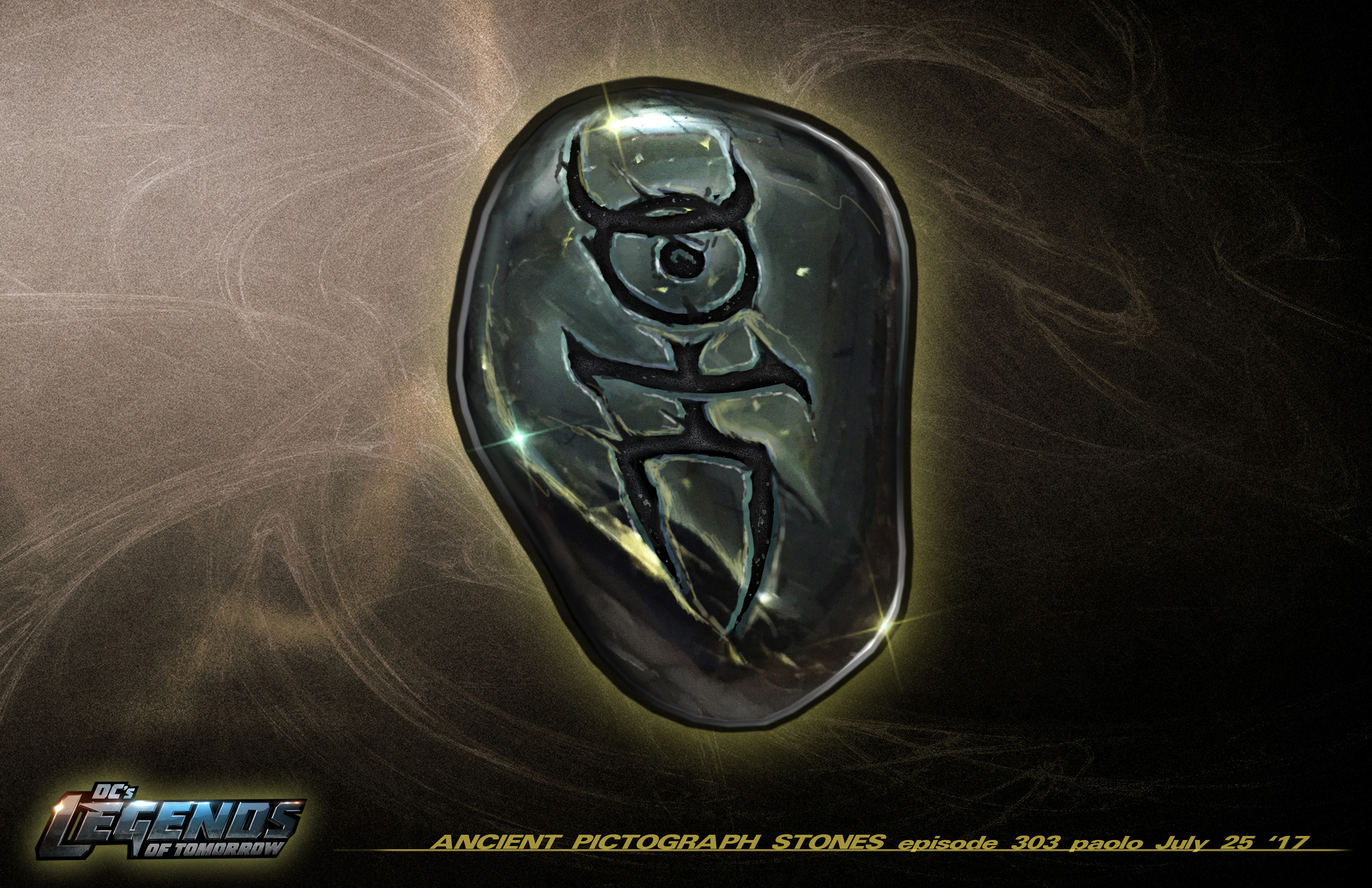Ancient Stone Design for Legends of DC Season 2