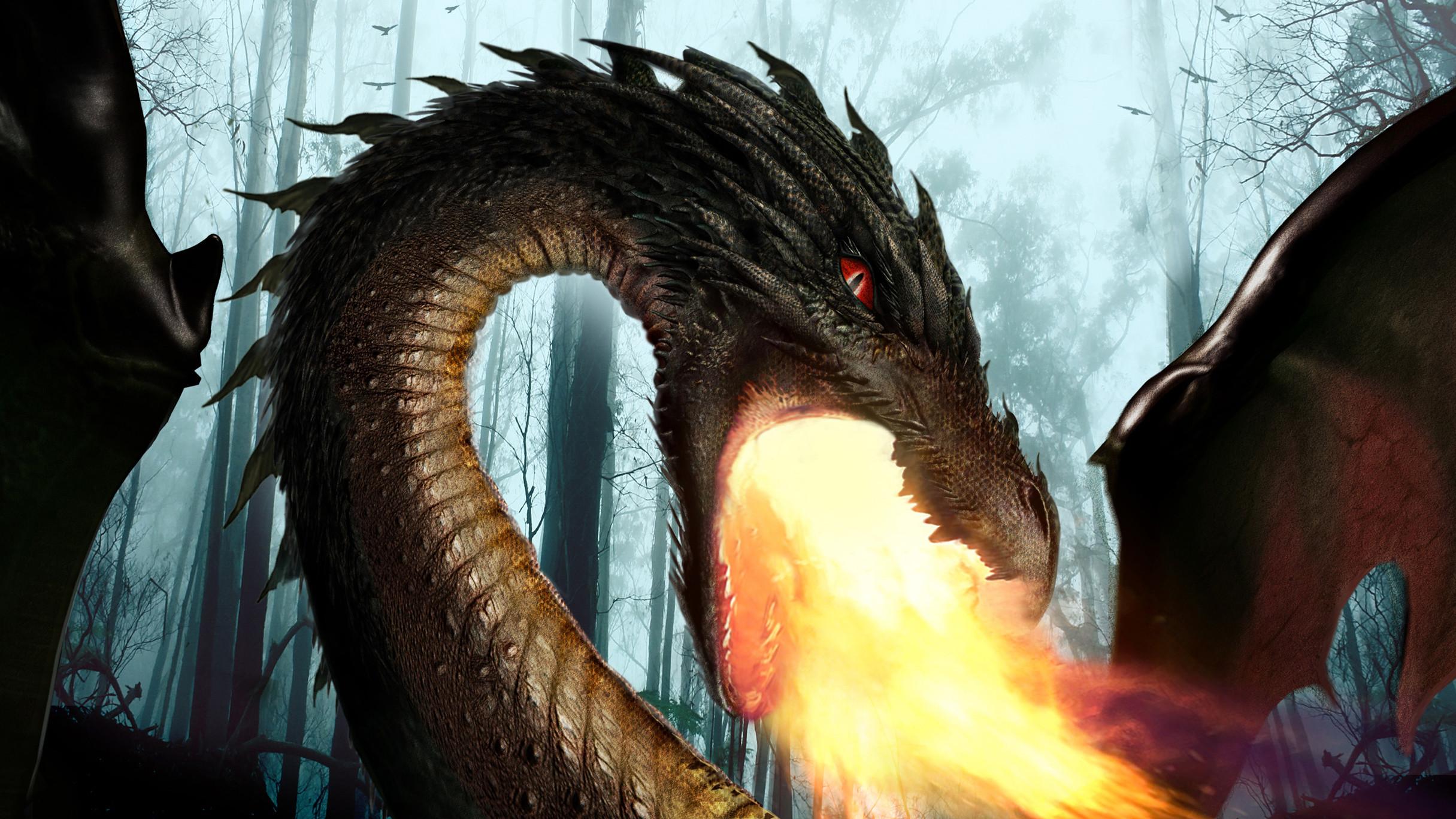 Closeup; Lily the Dragon Concept - Once Upon  a Time Season 5