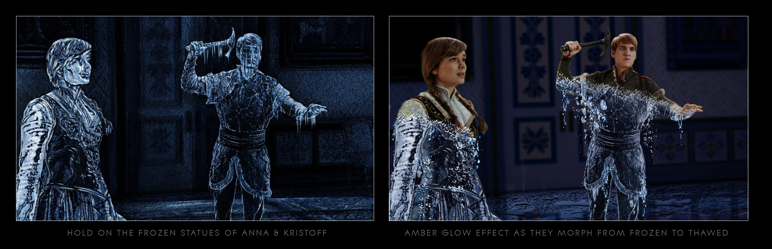 Anna Freezing Effect - Once Upon  a Time Season 5
