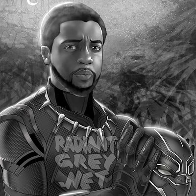 Nick minor black panther greytone copy