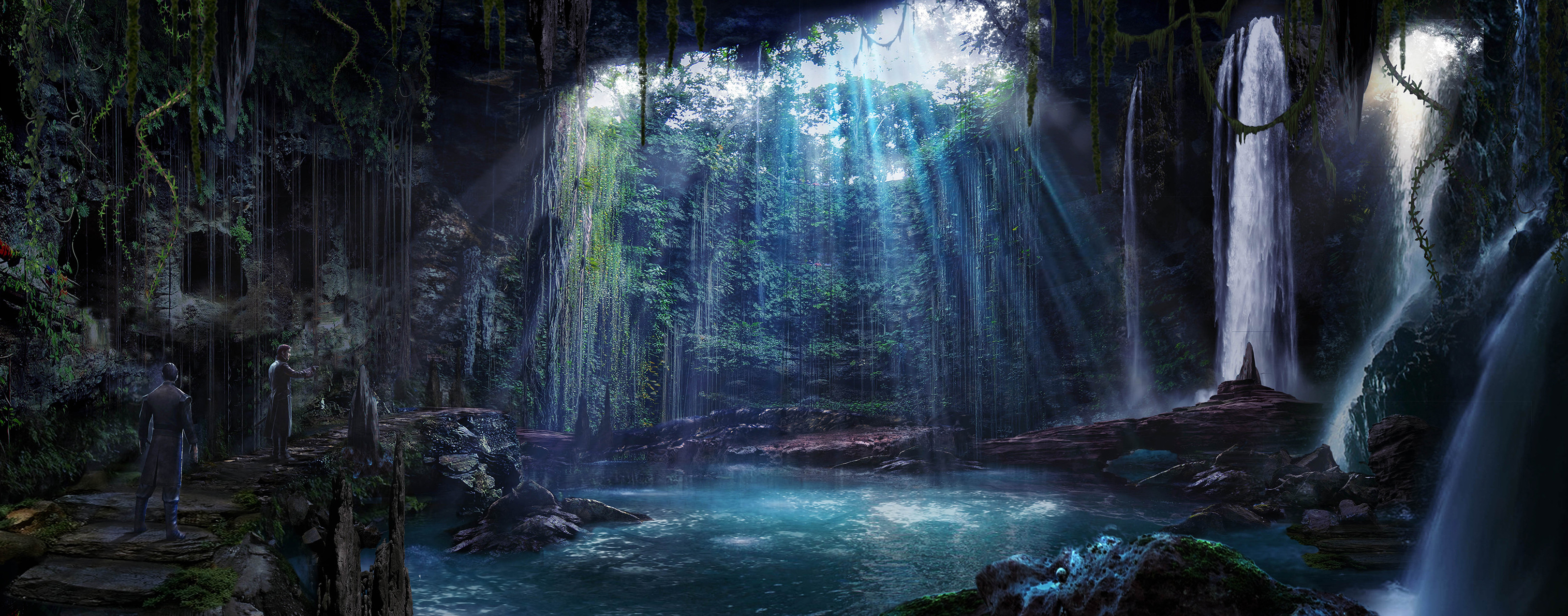 Grotto Concept for  ABC's Once Upon a Time Season 6