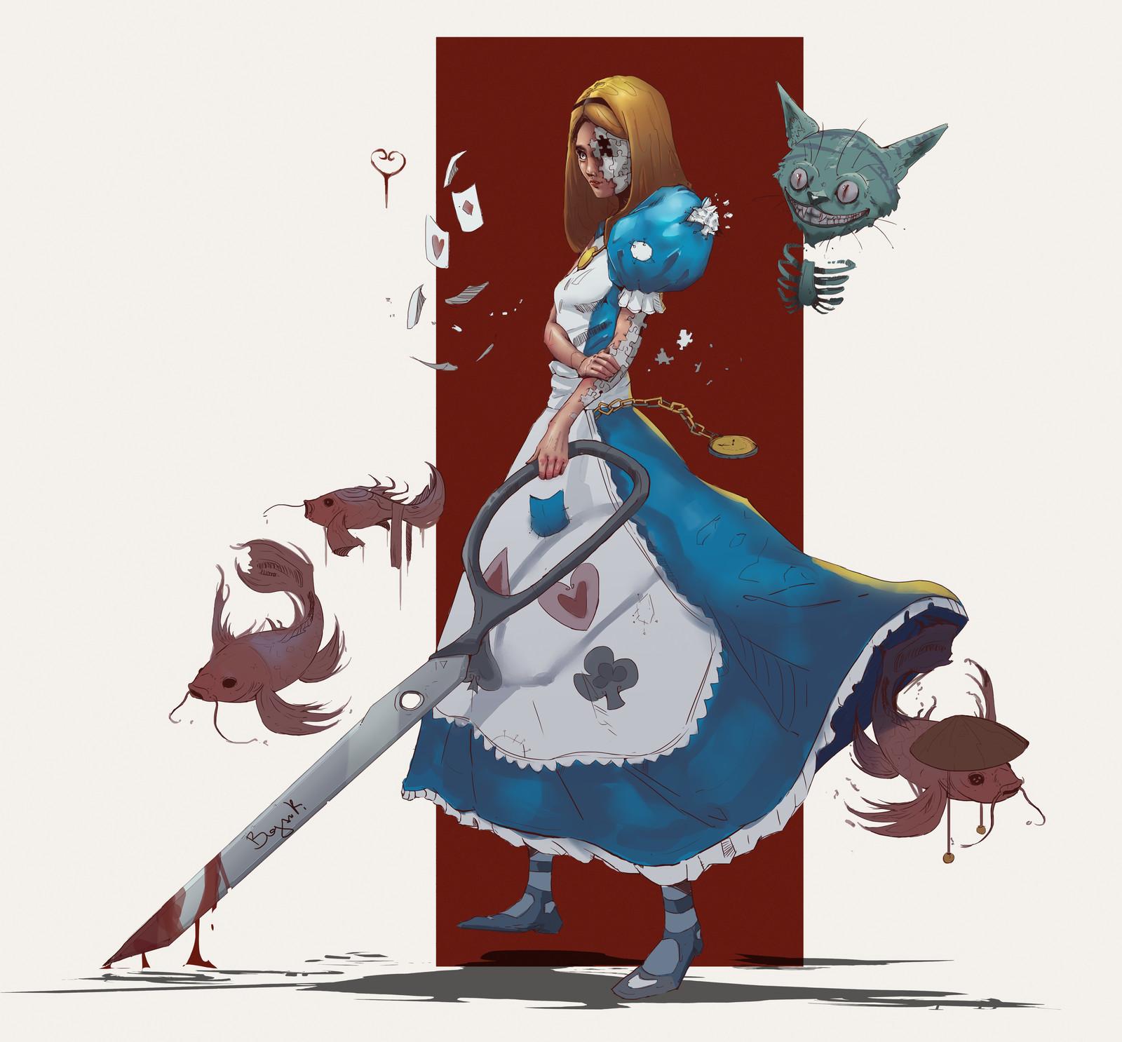 Puzzled Alice