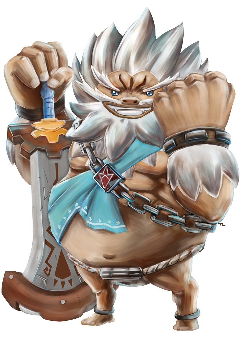 ArtStation - Zelda: Breath of The Wild - Daruk, The Goron