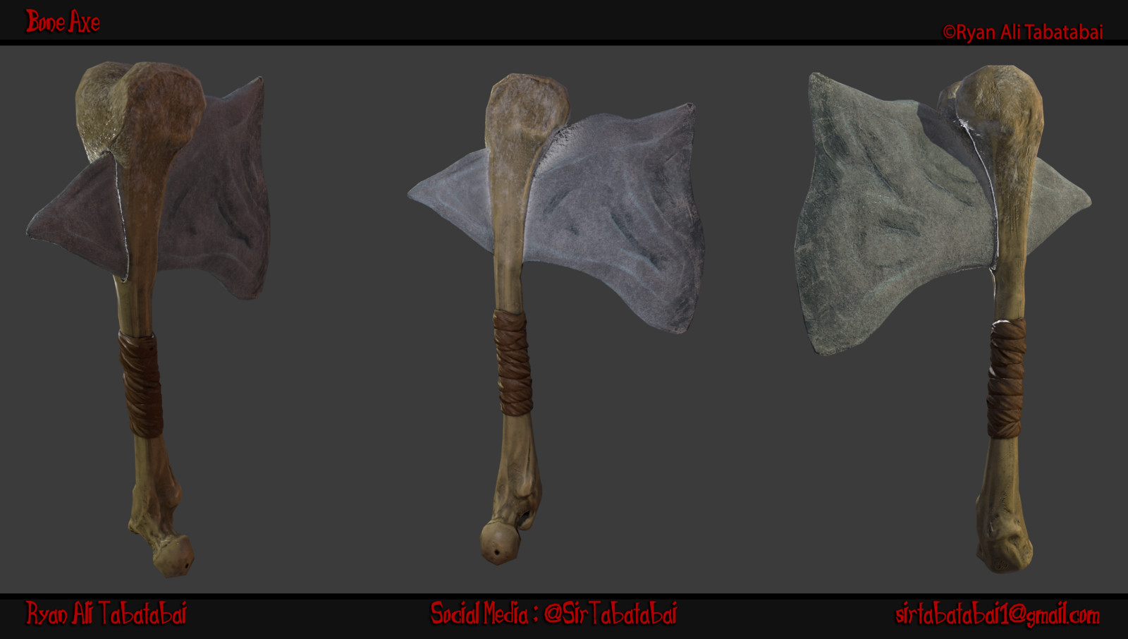 Bone Axe