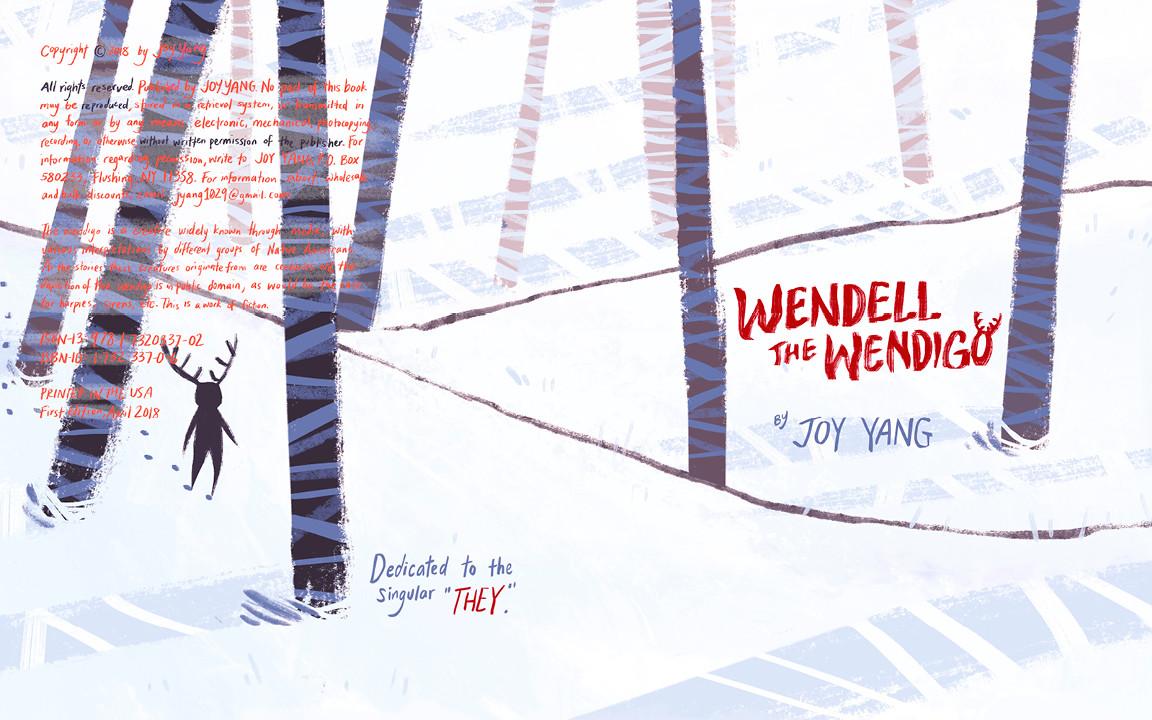 Joy yang wendell the wendigo 724