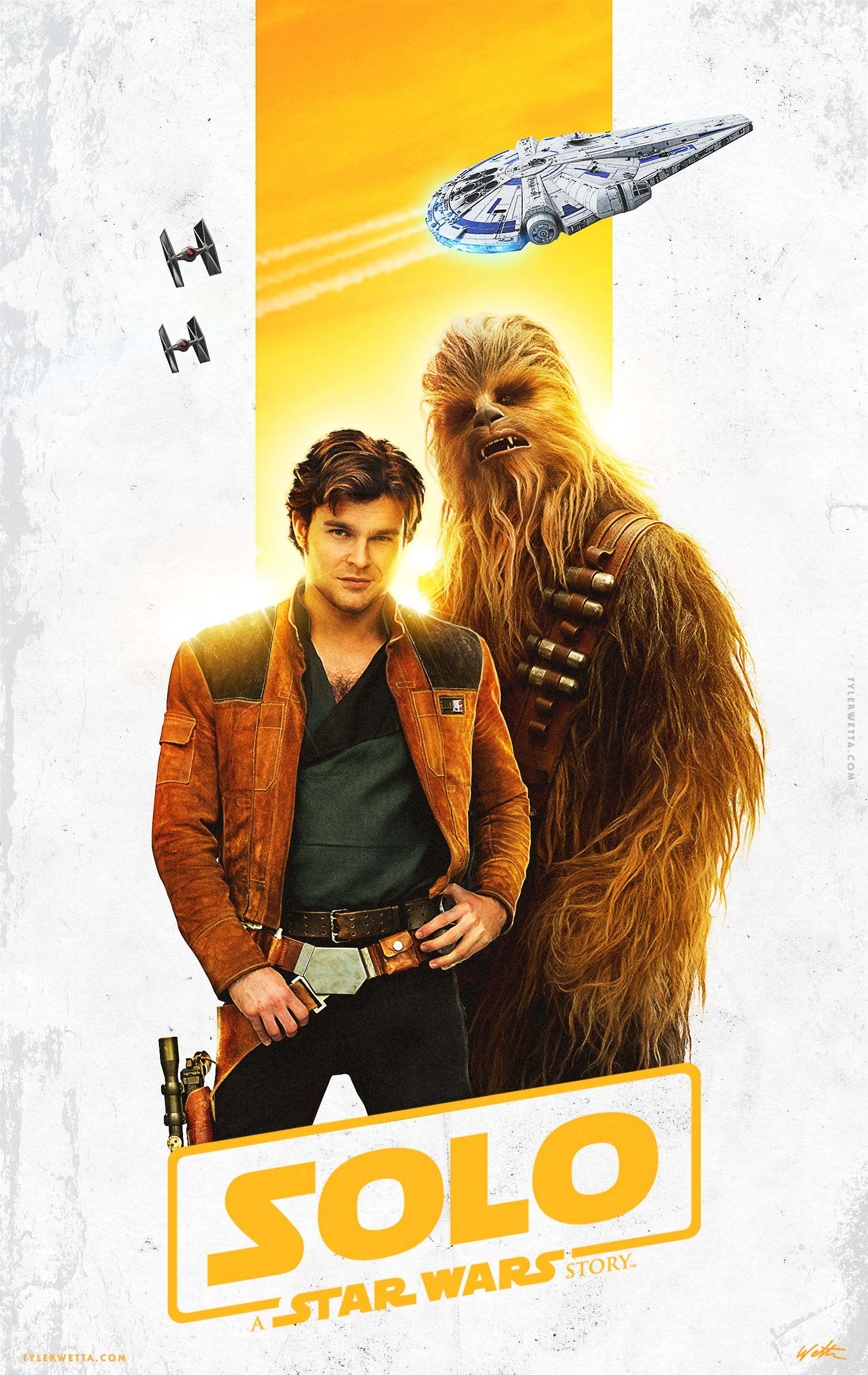 ArtStation - Solo: A Star Wars Story Movie Poster, Tyler Wetta