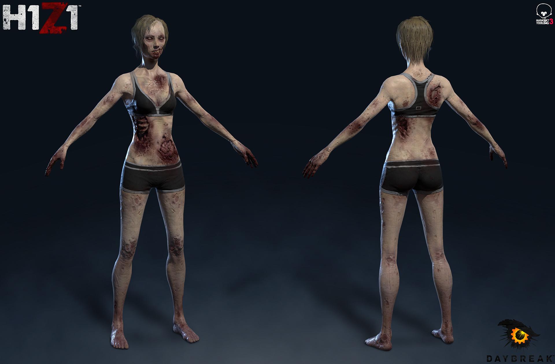 Satoshi arakawa zombie female body