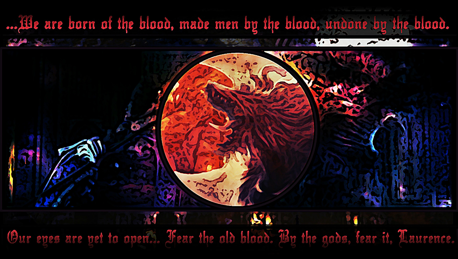 Pavel Shipilin Bloodborne Wallpaper Fear The Old Blood