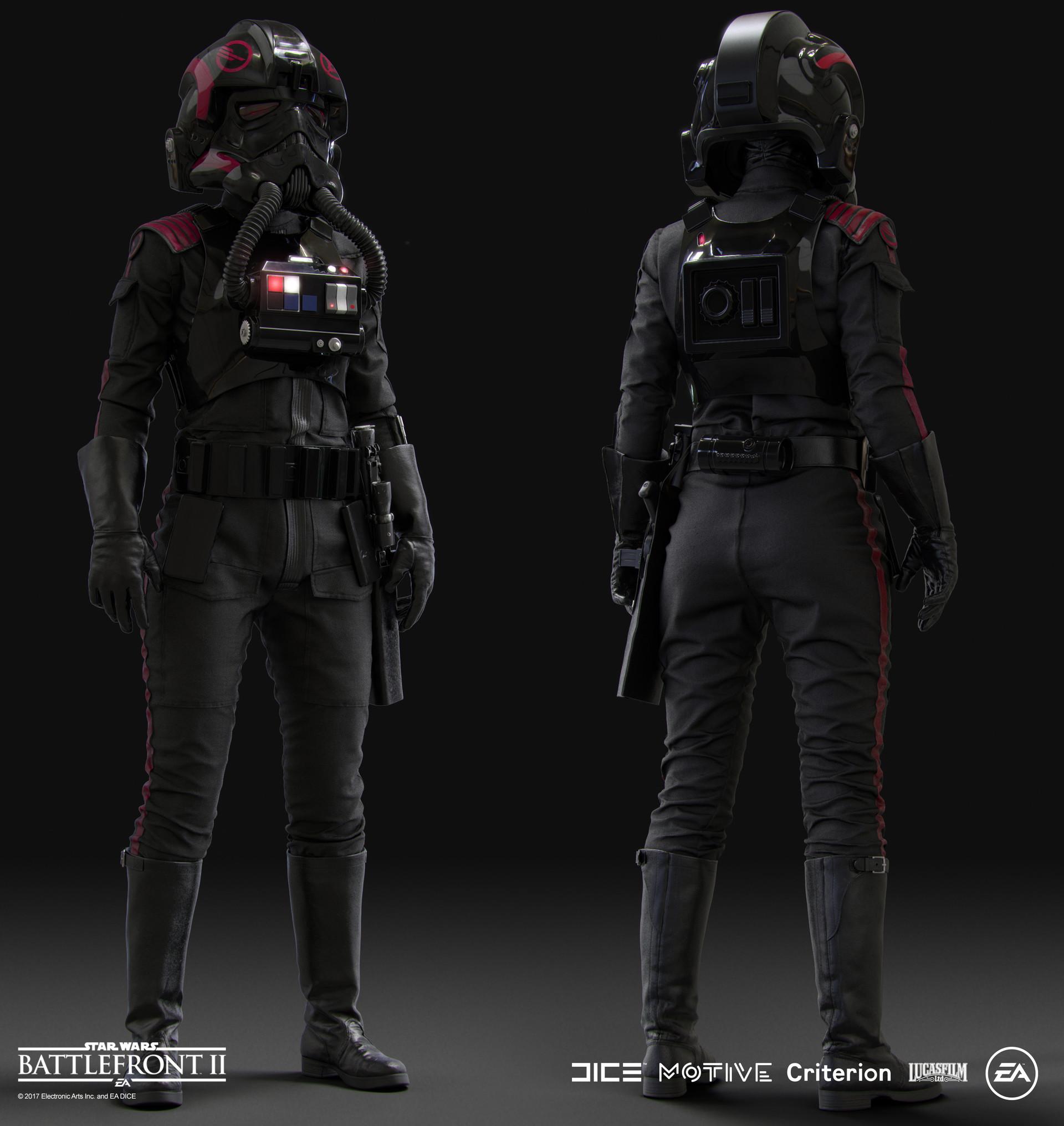 116f4efb ArtStation - Star Wars Battlefront 2 - Inferno Squad - Iden , Vince ...