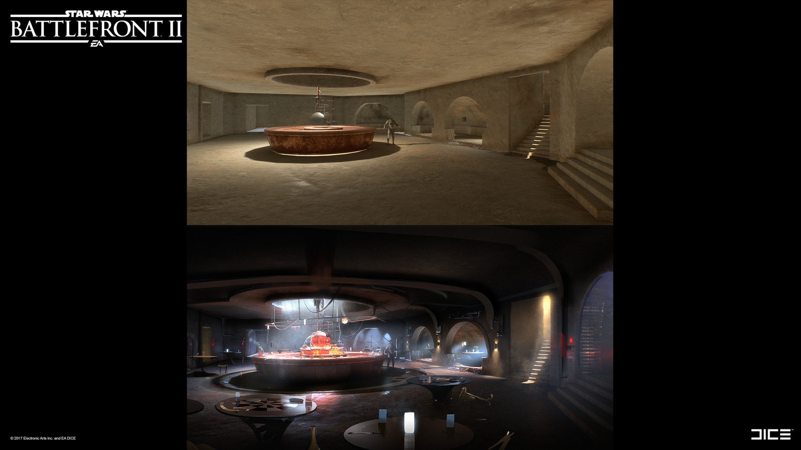 Paintover – Mos Eisley.  Credit to Nicholas Shardlow for the bar design.