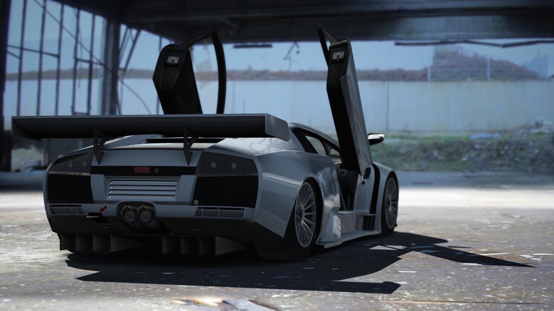 Artstation Lamborghini Murcielago R Gt Daniel Russo