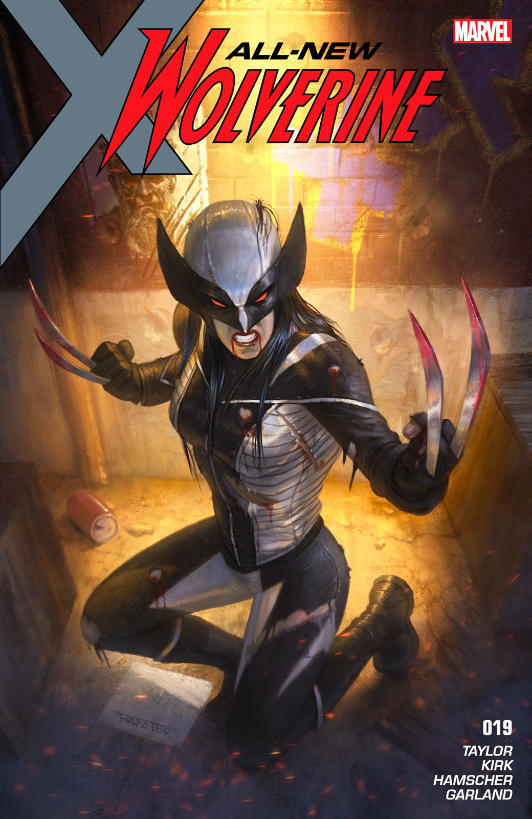 Rafael teruel marvel cover all new wolverine by rafater x23