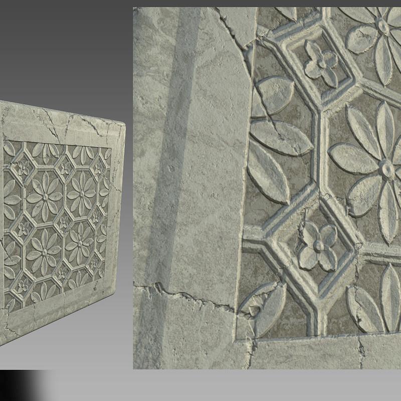Mandala Wall Texture