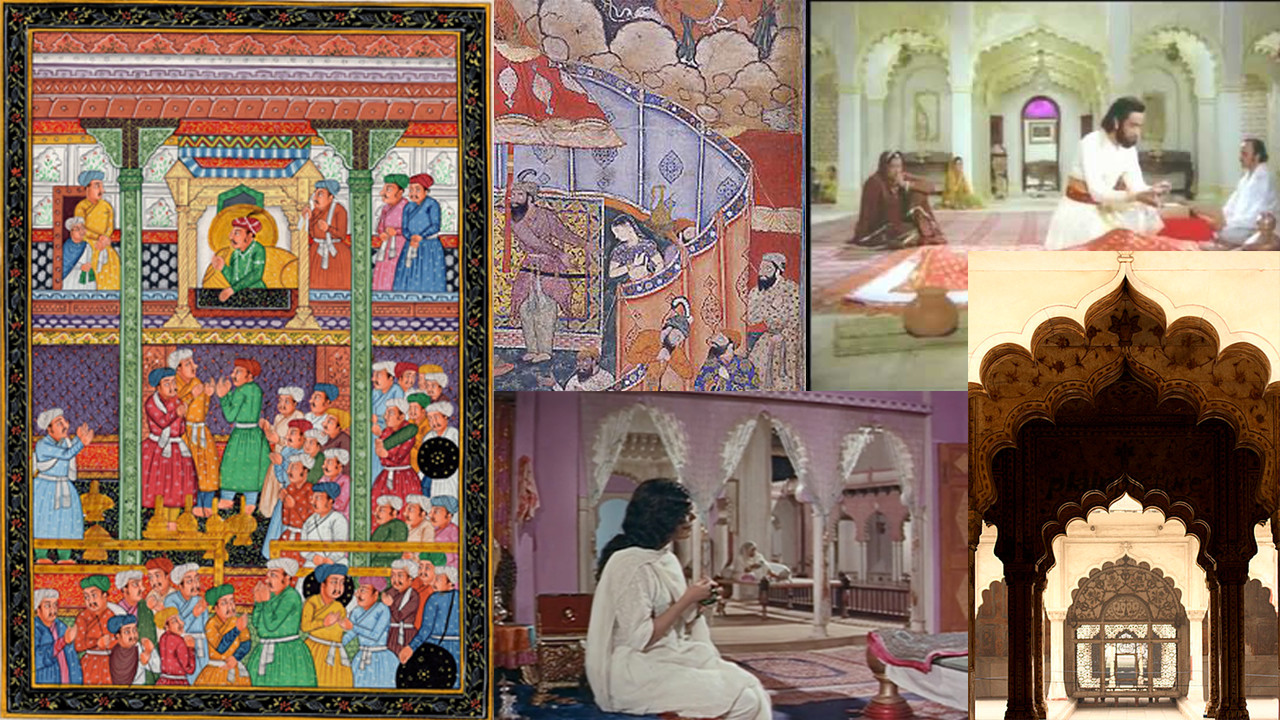 To make this project, I used references from Mughal architecture, paintings from the setting, and films based in the Mughal empire.