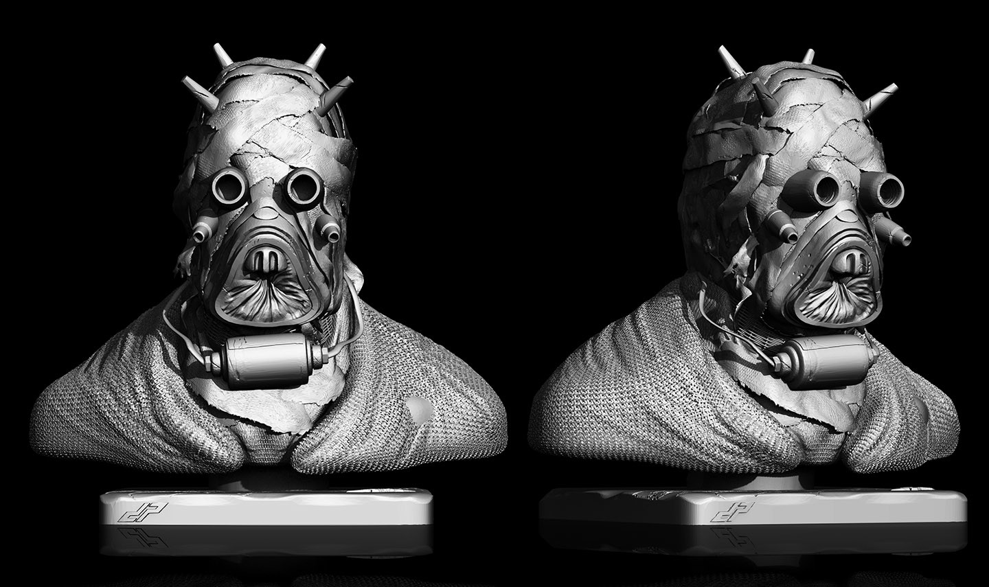 Dope pope tuskenraider stl by dp