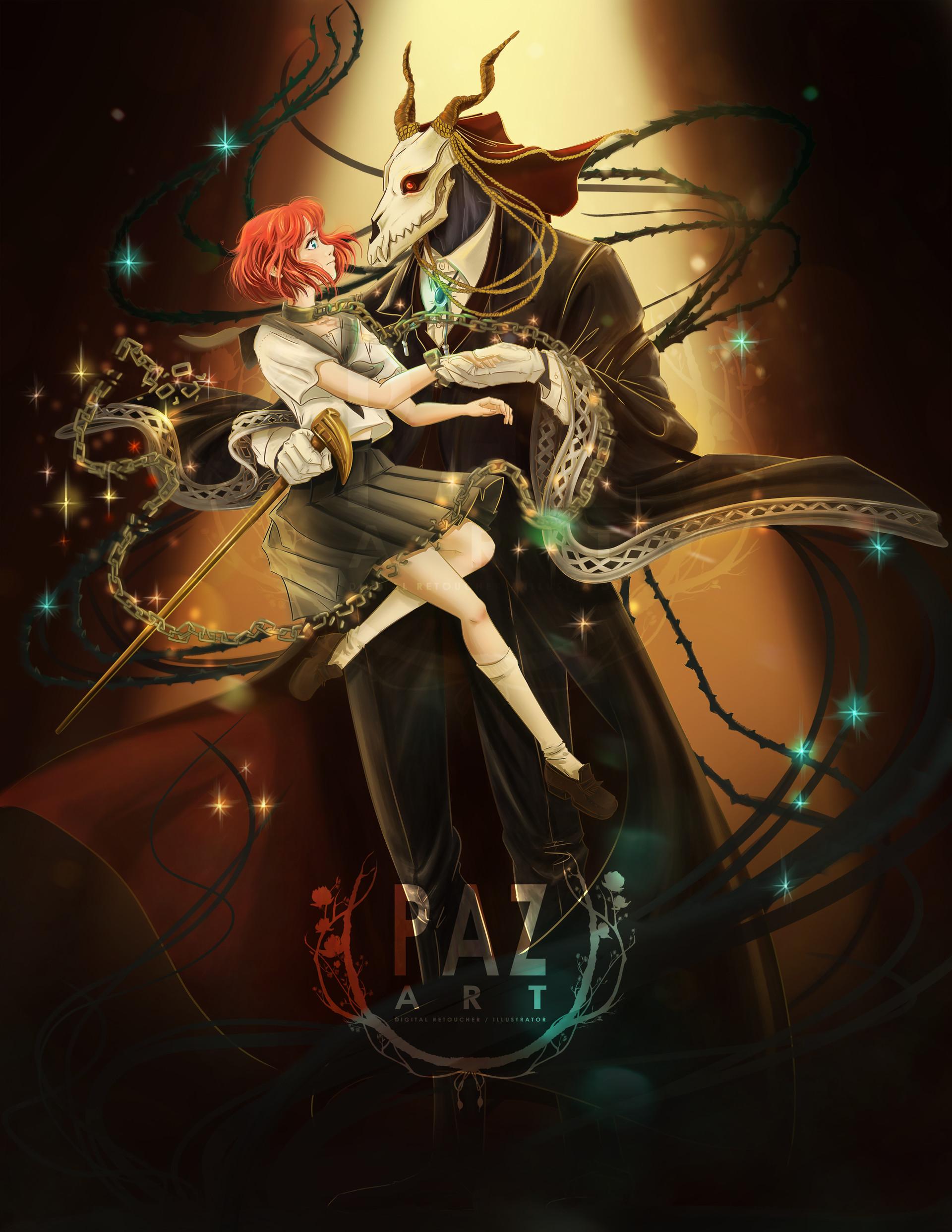 foto de ArtStation PAZ ART /RE DRAW Mahoutsukai No Yome Pazu (Mª Paz Arriagada Lara)