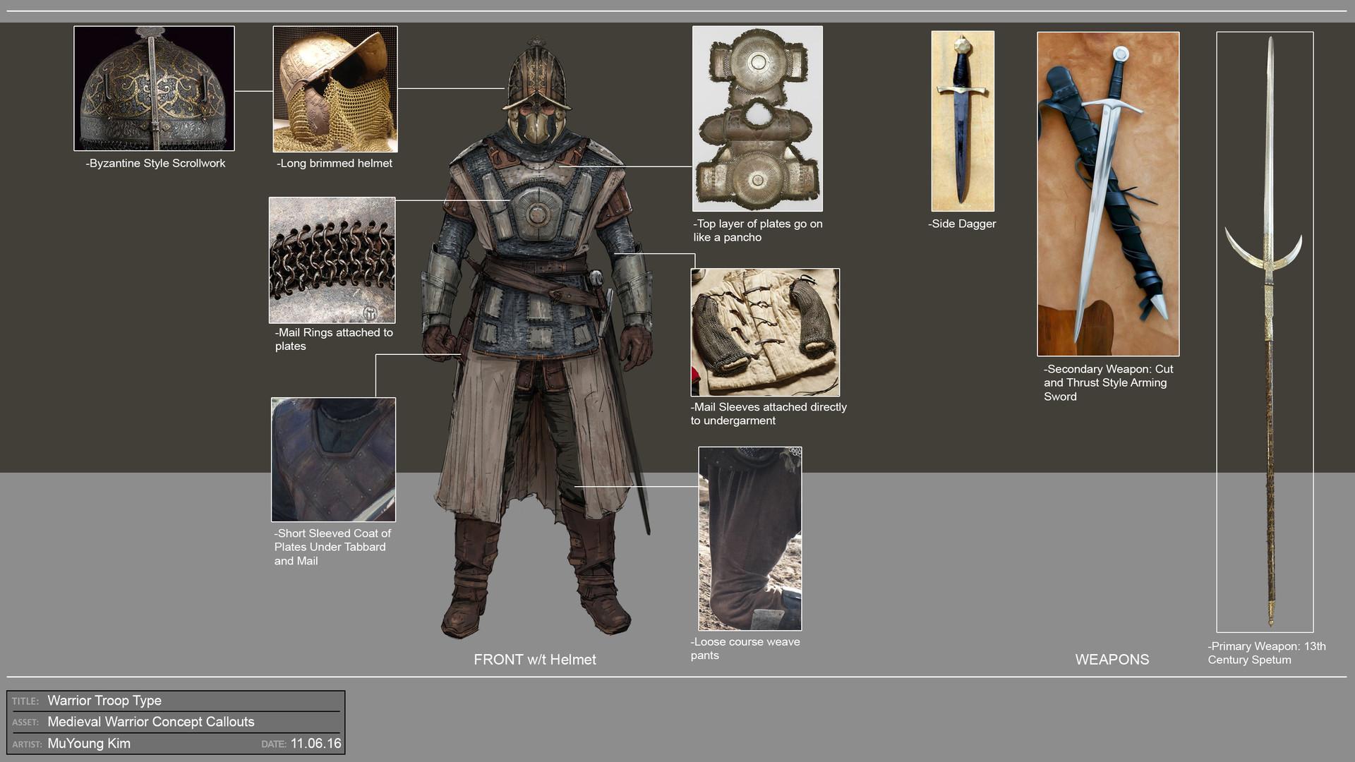 Muyoung kim warrior troop concept 2
