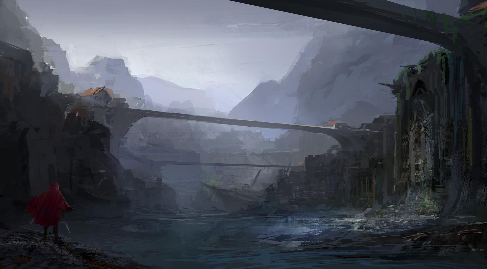 Muyoung kim prpg cliff bridge ruins cs mu