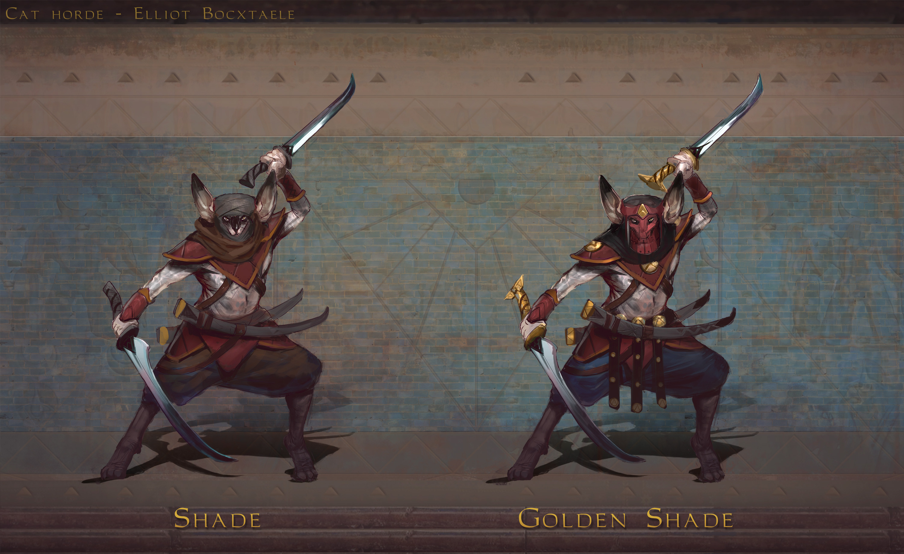 TIER 2 Shades. The cat hordes have always been riddled with intruige, crime and immorality. Its only when the Great Khan created the House of Shades that these skills were finally put to good use. Recruited from the urban lower classes, criminals and...