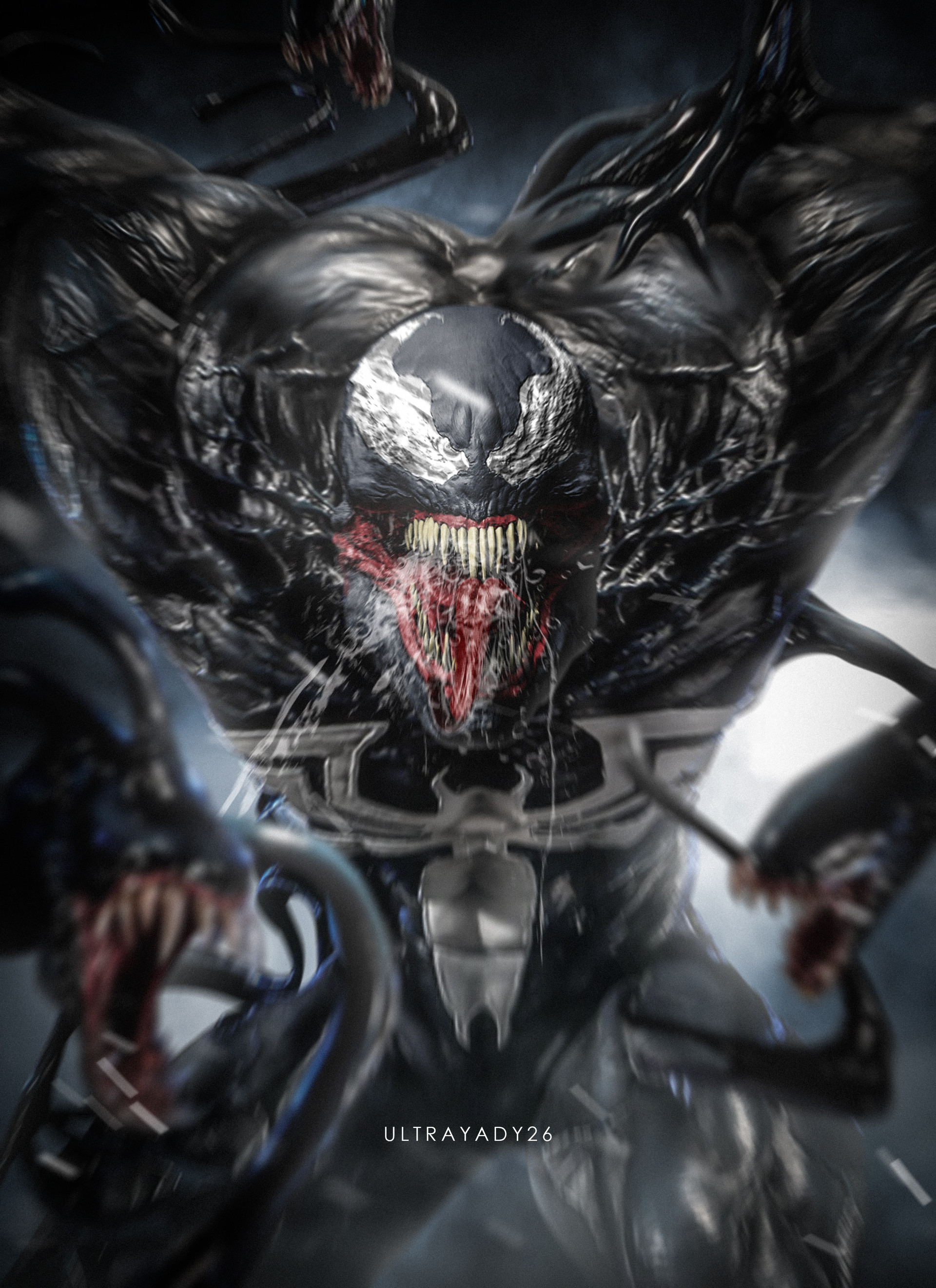 ArtStation - WE ARE VENOM!, yadvender singh
