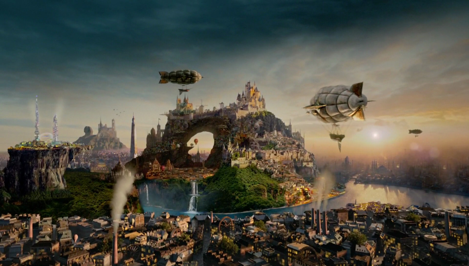 Land of the Lost Stories Final Shot by ZOIC Studios  - Once Upon  a Time Season 5