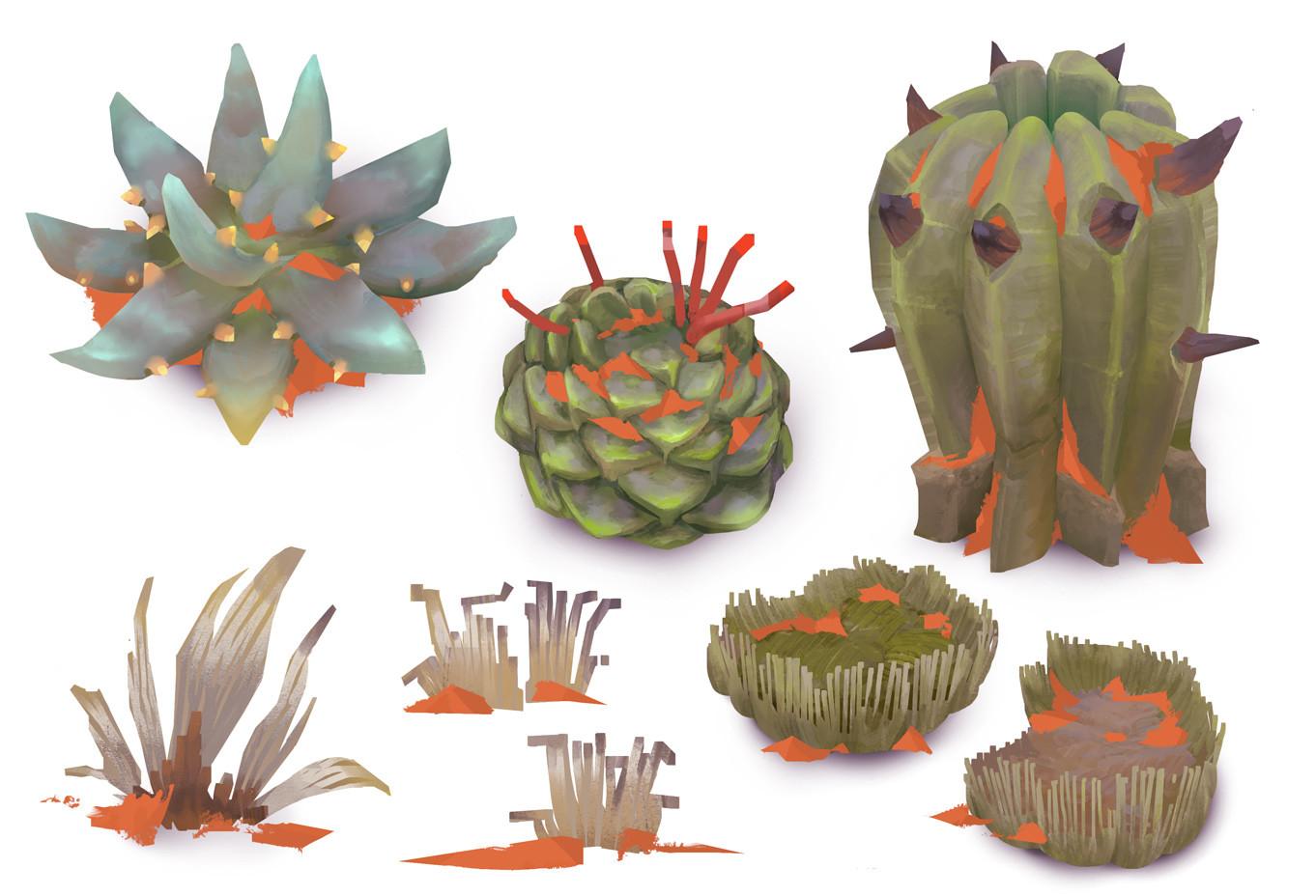 Markus lenz ancient ones props plants