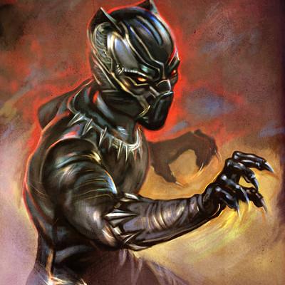 Okan bulbul black panther02