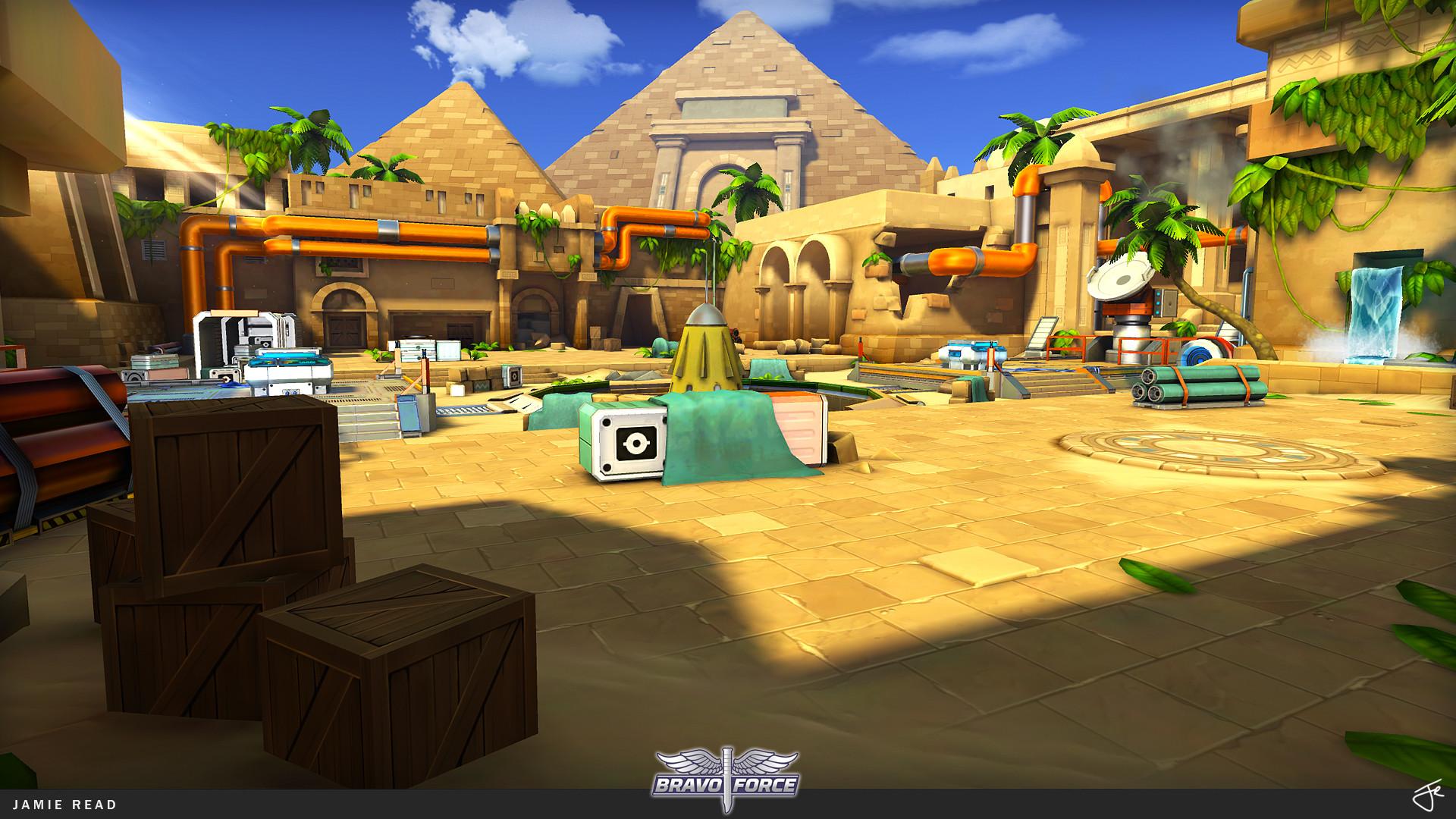 Jamie rex portfolio bravoforce arena egypt 02
