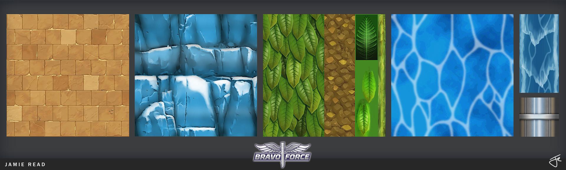 Jamie rex portfolio bravoforce arena textures 01