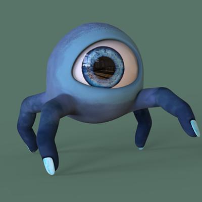 Jaime pinto finger eye