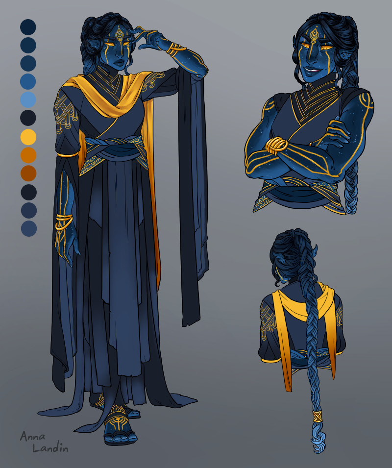 Dd Character Concept Art Monk