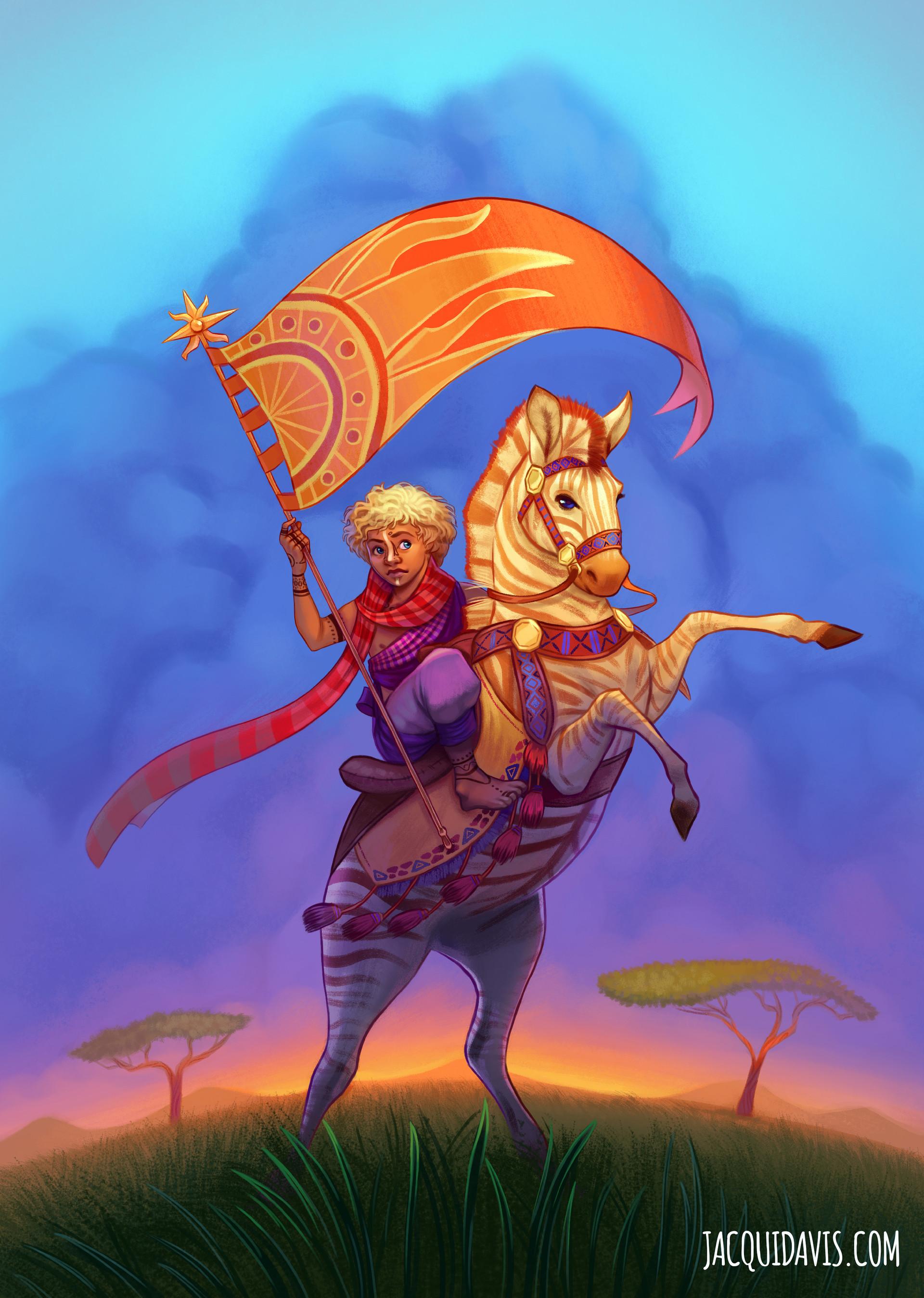 Jacqui davis jacquidavis fantasy prince zebra traditional