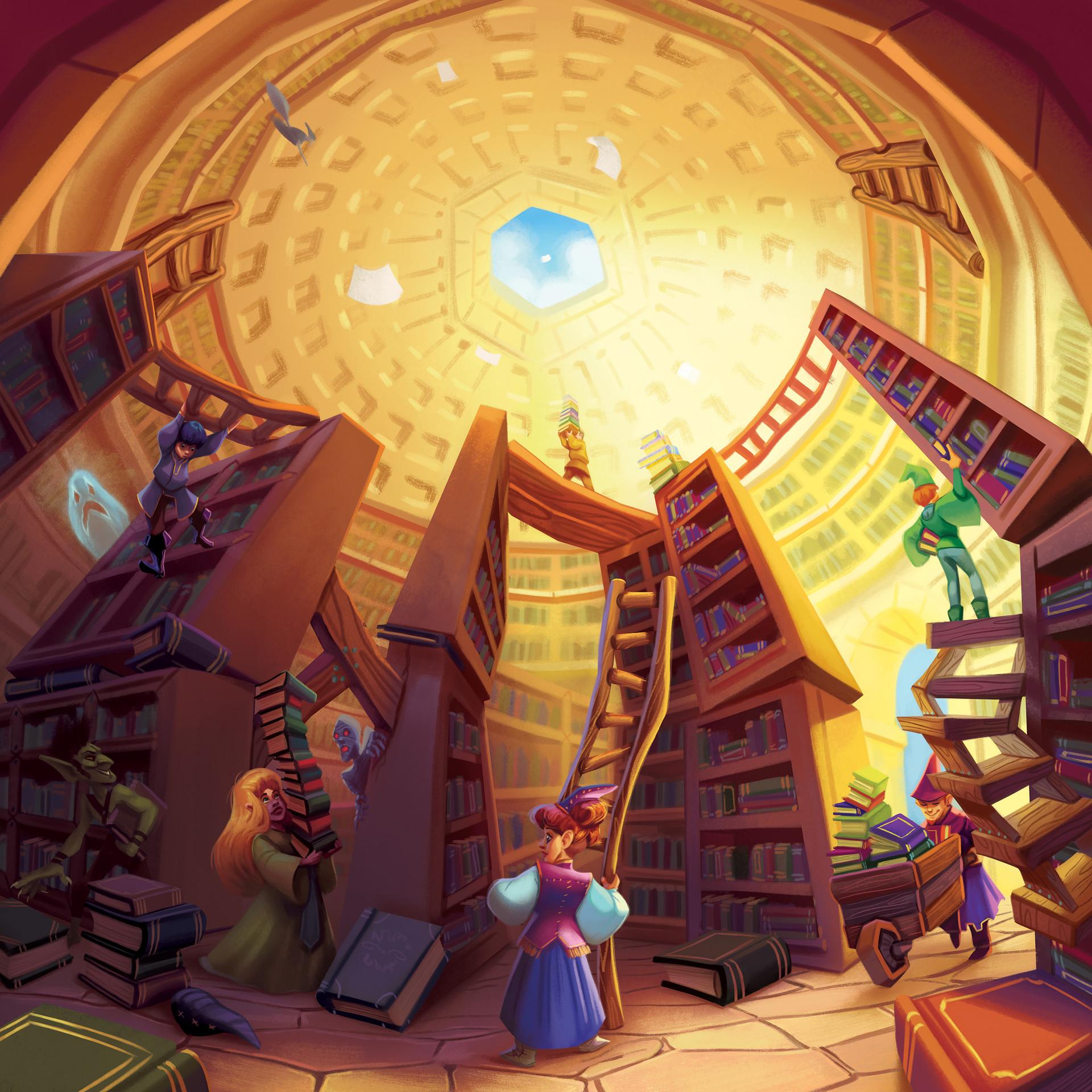 Jacqui davis library fantasy gnomes