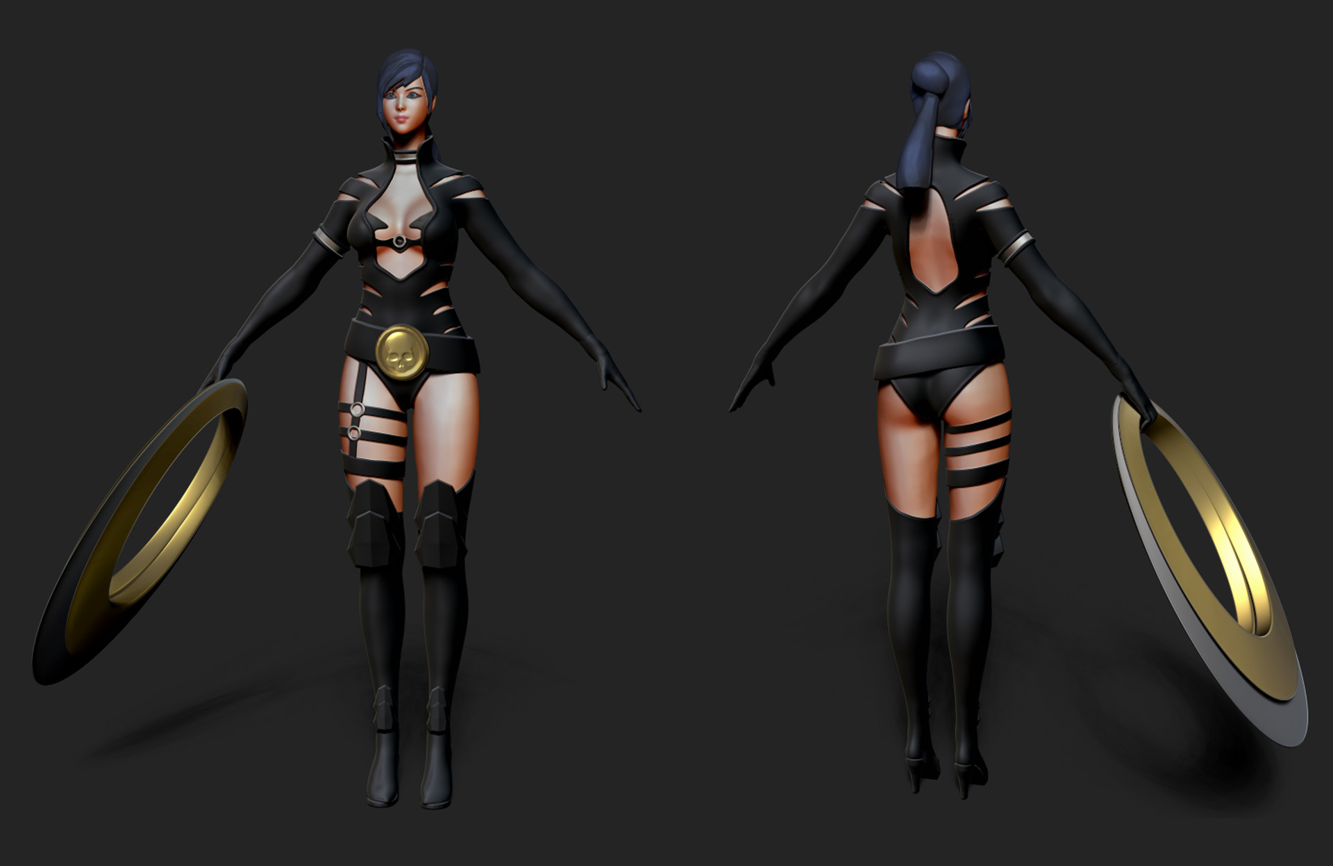 Koray Saldere Black Desert Online Global Costume Design Contest 2018 Kunoichi Costume