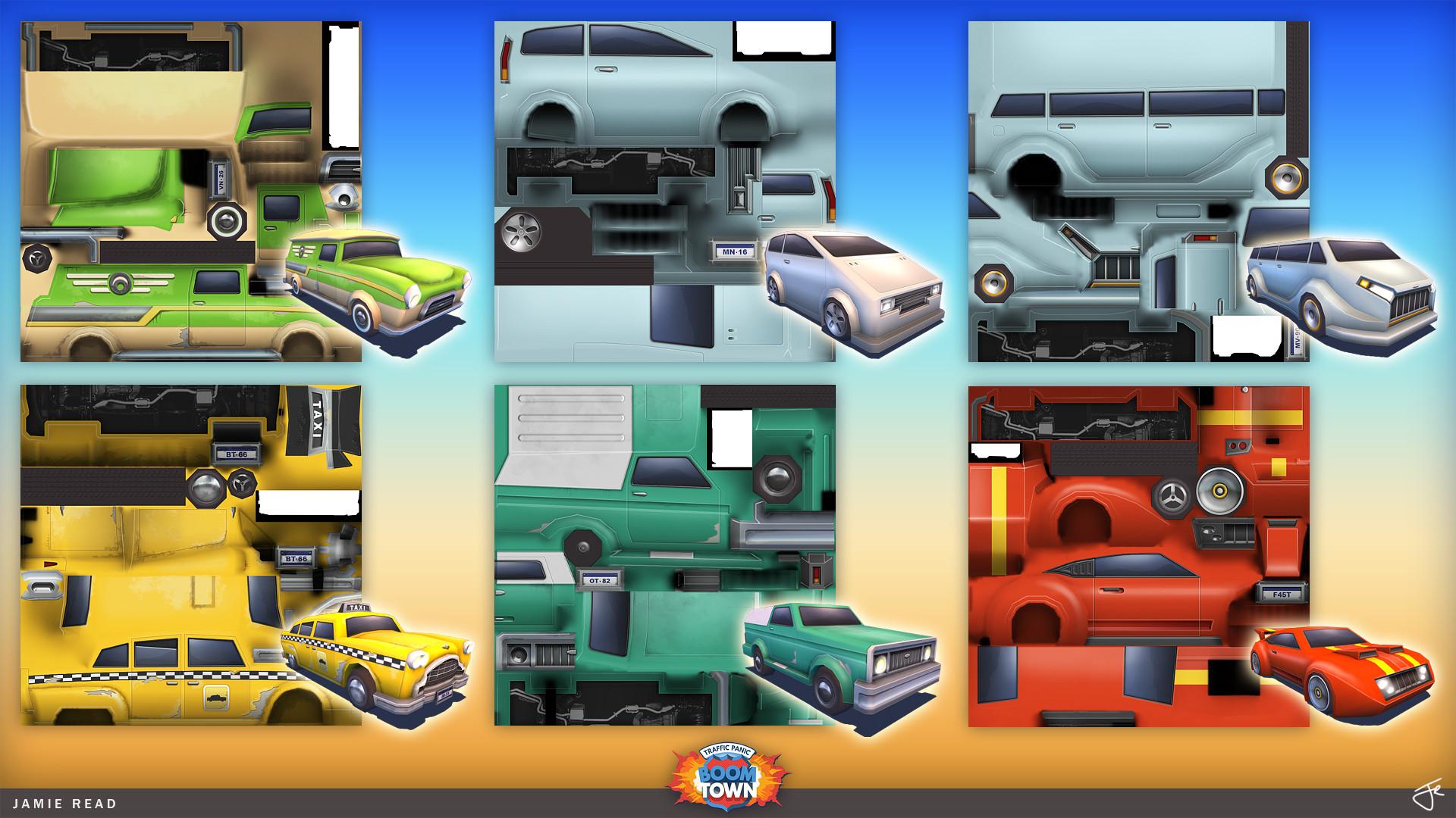 Jamie rex portfolio tpbt vehicles textures 02