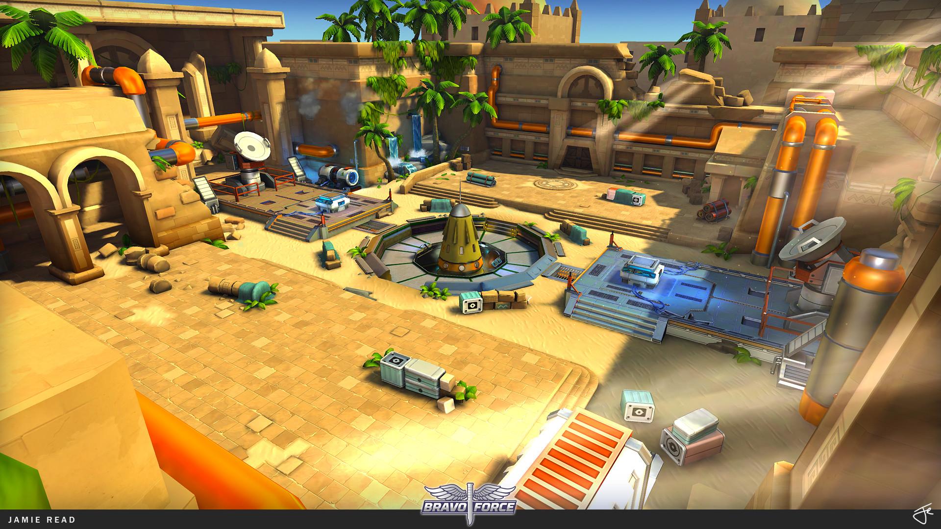 Jamie rex portfolio bravoforce arena egypt 01