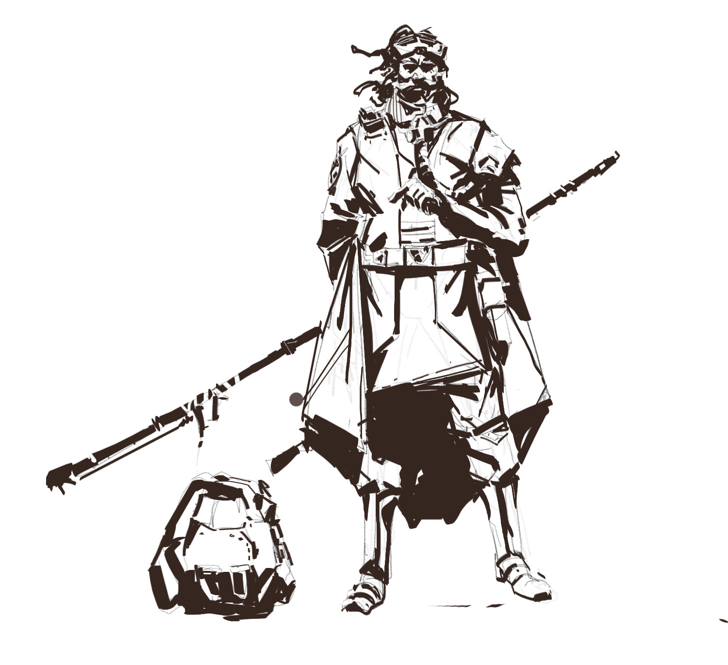 Character Concept Art -sketches
