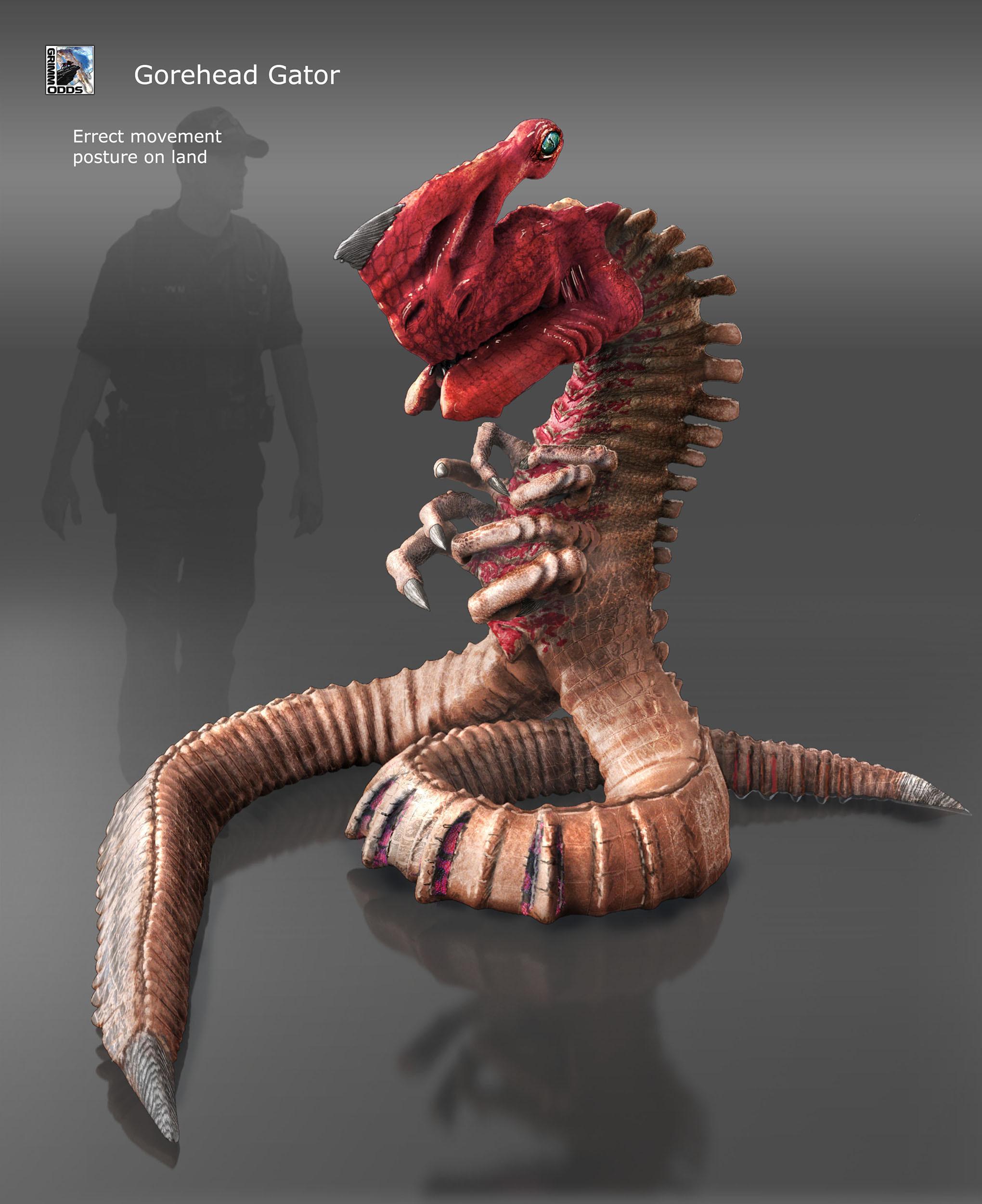 Grimm Odds - Gore-Head Gator