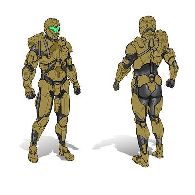 Danny kundzinsh frontier scifi character concept art final render final2