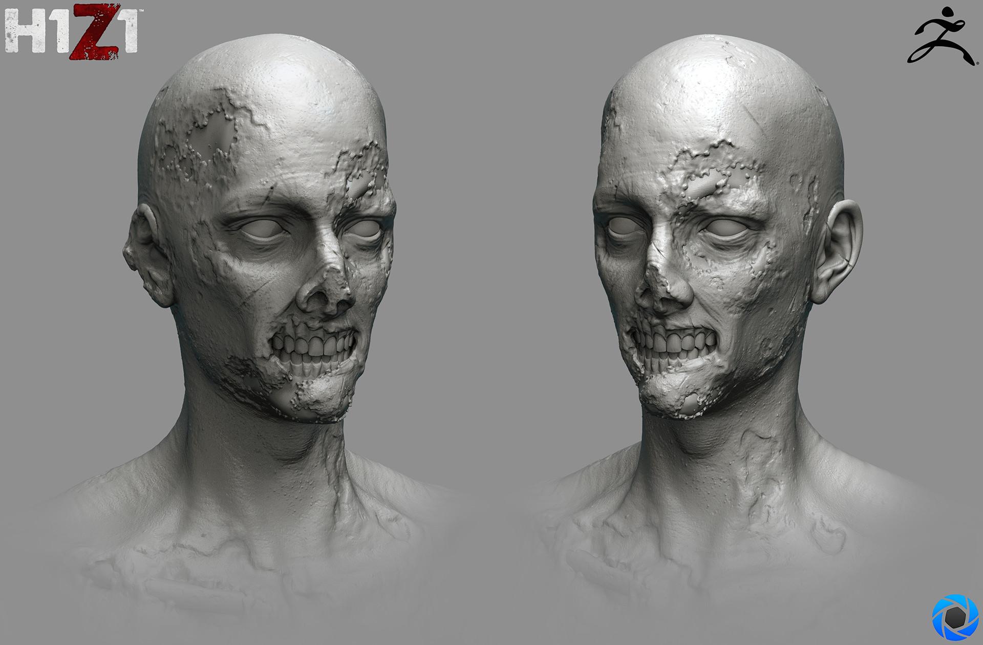 Satoshi arakawa zombie male hex 01 sculpt